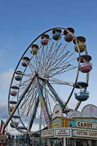 Campbell Amusements Midway