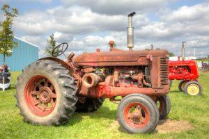 Antique Farm Display