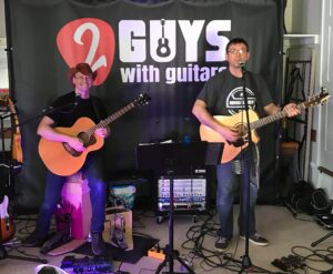 2 Guys with Guitars